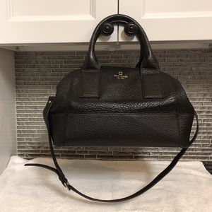 Kate Spade Black Doctor Bag